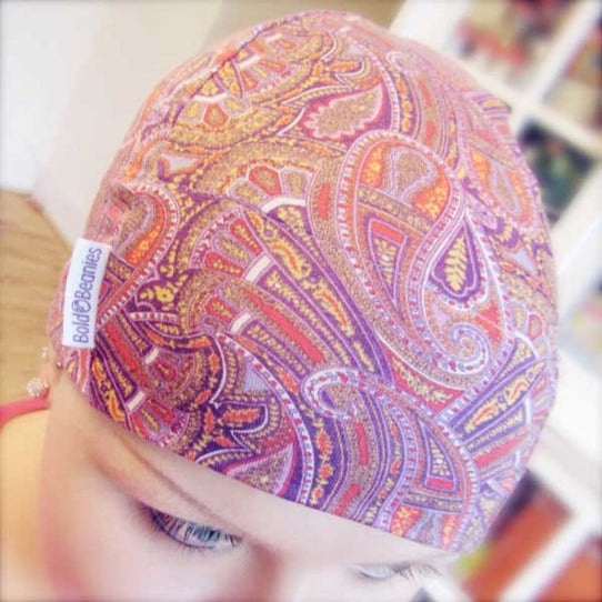 Liberty Paisley Bold Beanies Hat - 3 colours