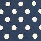 Denim Polka Dot Cancer Headscarf