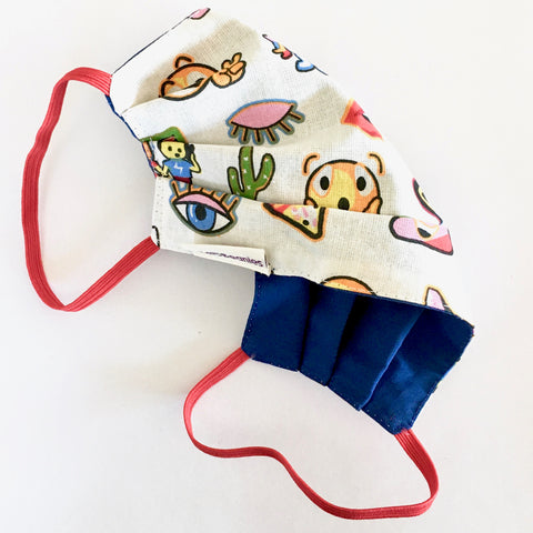Fun eco cotton face masks UK