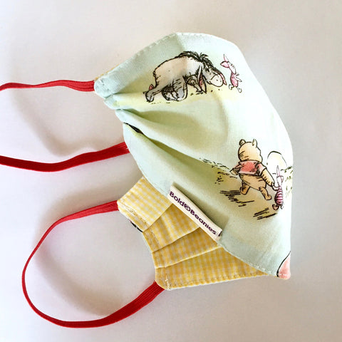 Winnie the Pooh Surgical Cotton Face Mask