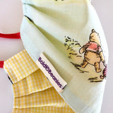 Cute Winnie Pooh Printed Kids facemask UK