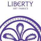 Liberty Art Fabric Logo chemo beanies