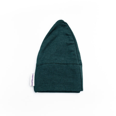 Mens Cancer Hat Bottle Green Cotton