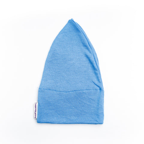 Sky Blue Mens Cotton Cancer Hat