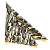 Black & White Camo Bandana Cotton
