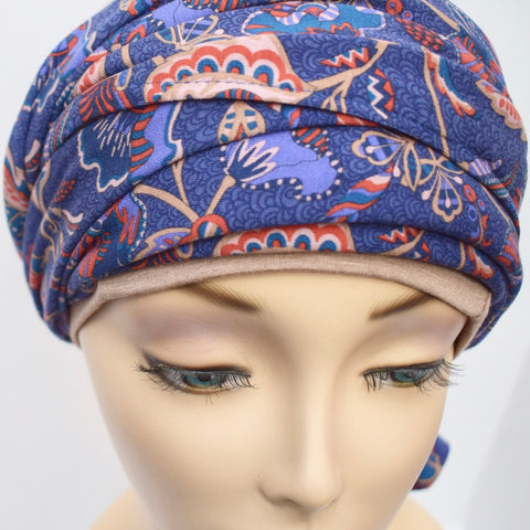 Libetry Maisel Double Sided Head Wrap for Chemo Hair Loss