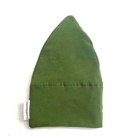 Olive Green Soft Cotton Cancer Hat