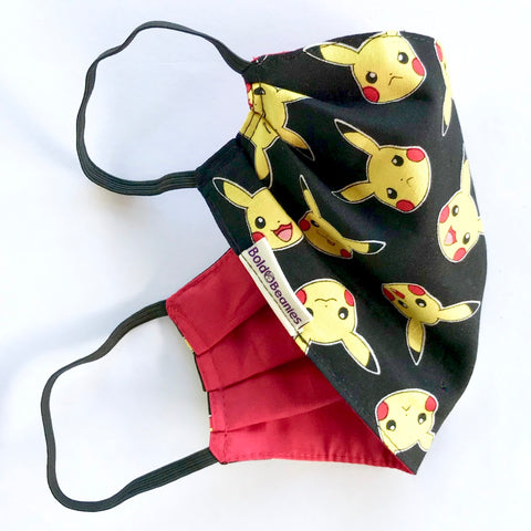 Pokemon Pikachu Face Mask