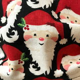 Santa Face Mask Washable Cotton