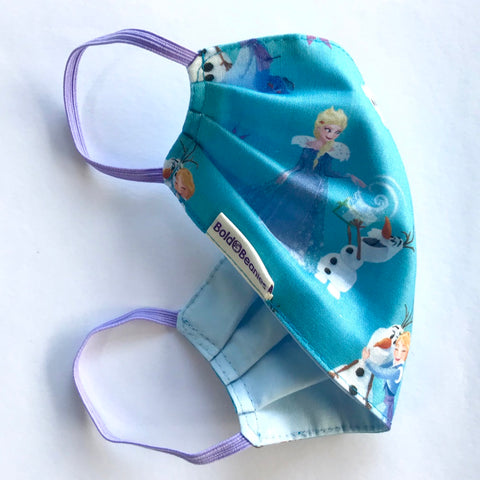 Elsa Olaf Ana Frozen Girls Face Mask