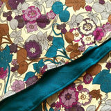 Retro Liberty Headscarf Teal Floral