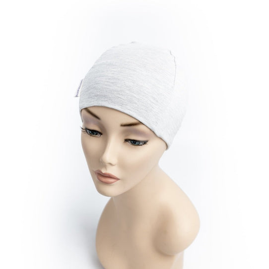 Grey Cancer Beanie for Day & Night Wear