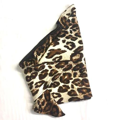 Leopard Print Cancer Head Scarf Women
