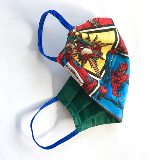 Spiderman Print Kids Face Mask