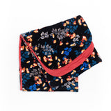 Reversible Jane Floral & Red Cancer Head Wrap