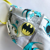 Batman Fabric Facemask UK