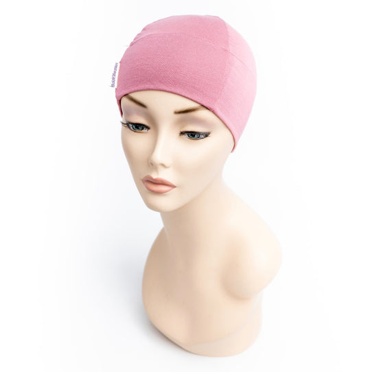 Old Rose Pink Comfy Cancer Hat