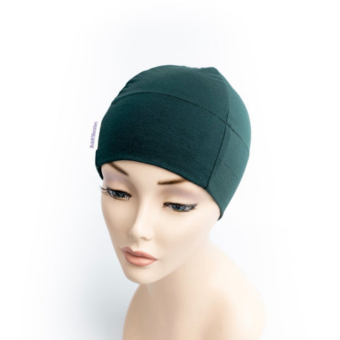Bottle Green Cancer Cap