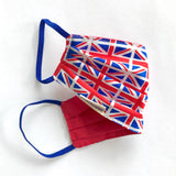Eco Union Jack Facemask face cover