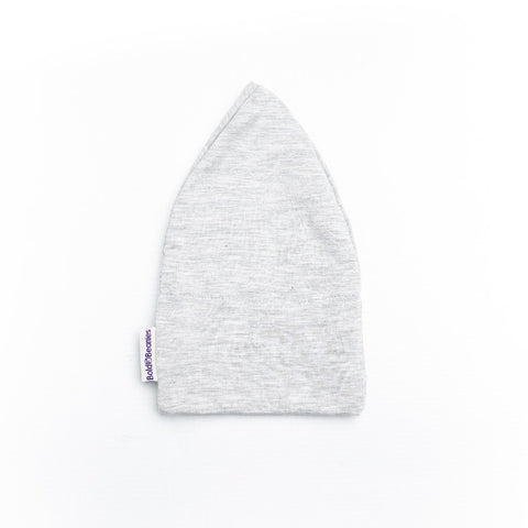 Luxury Plain Grey Women's Cotton Cancer Hat