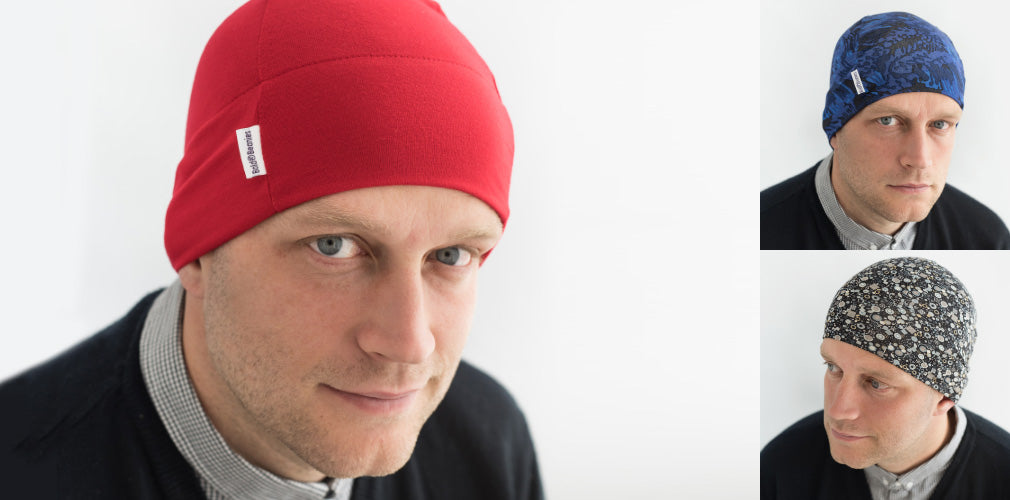 Mens Cancer Chemo Beanies Hats