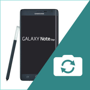 Samsung Galaxy Note Edge Rear Camera Replacement