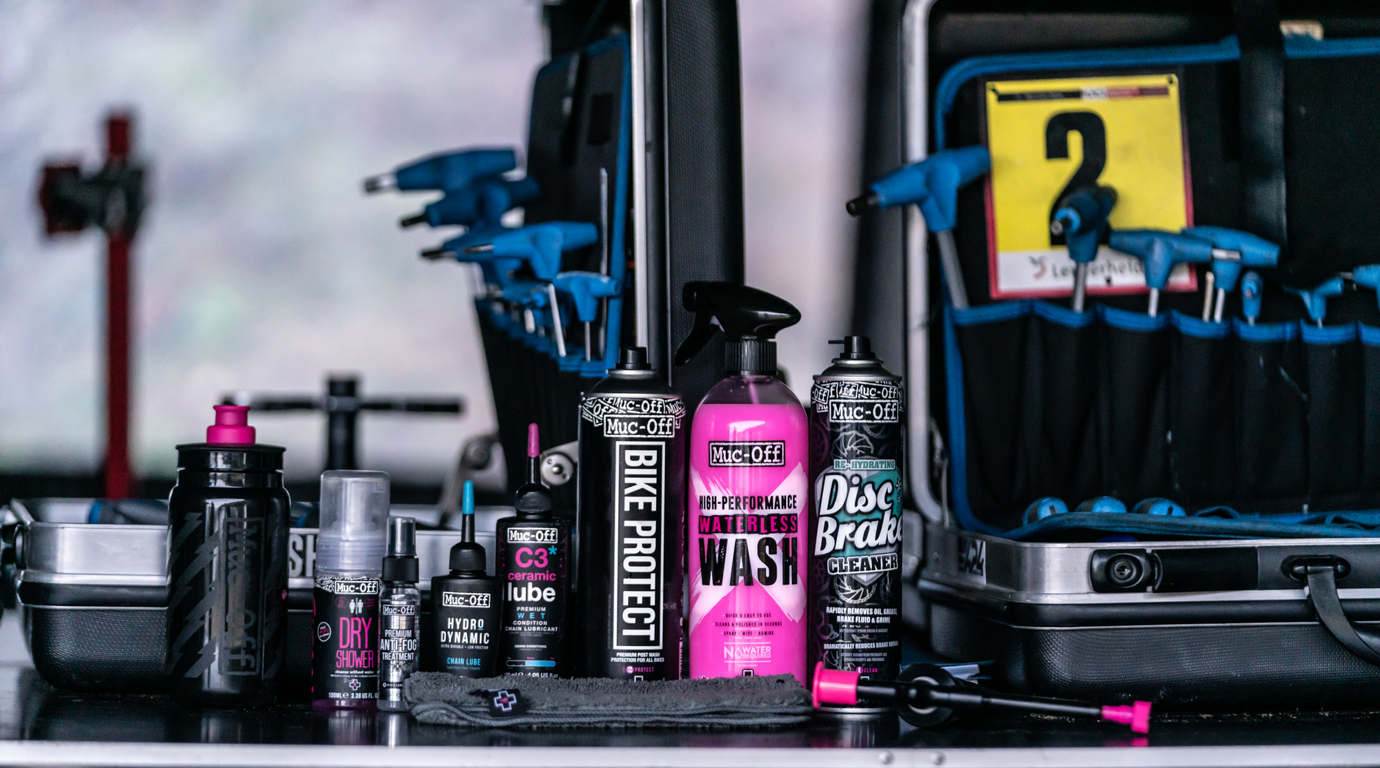 Now Offering Select Muc-Off Products