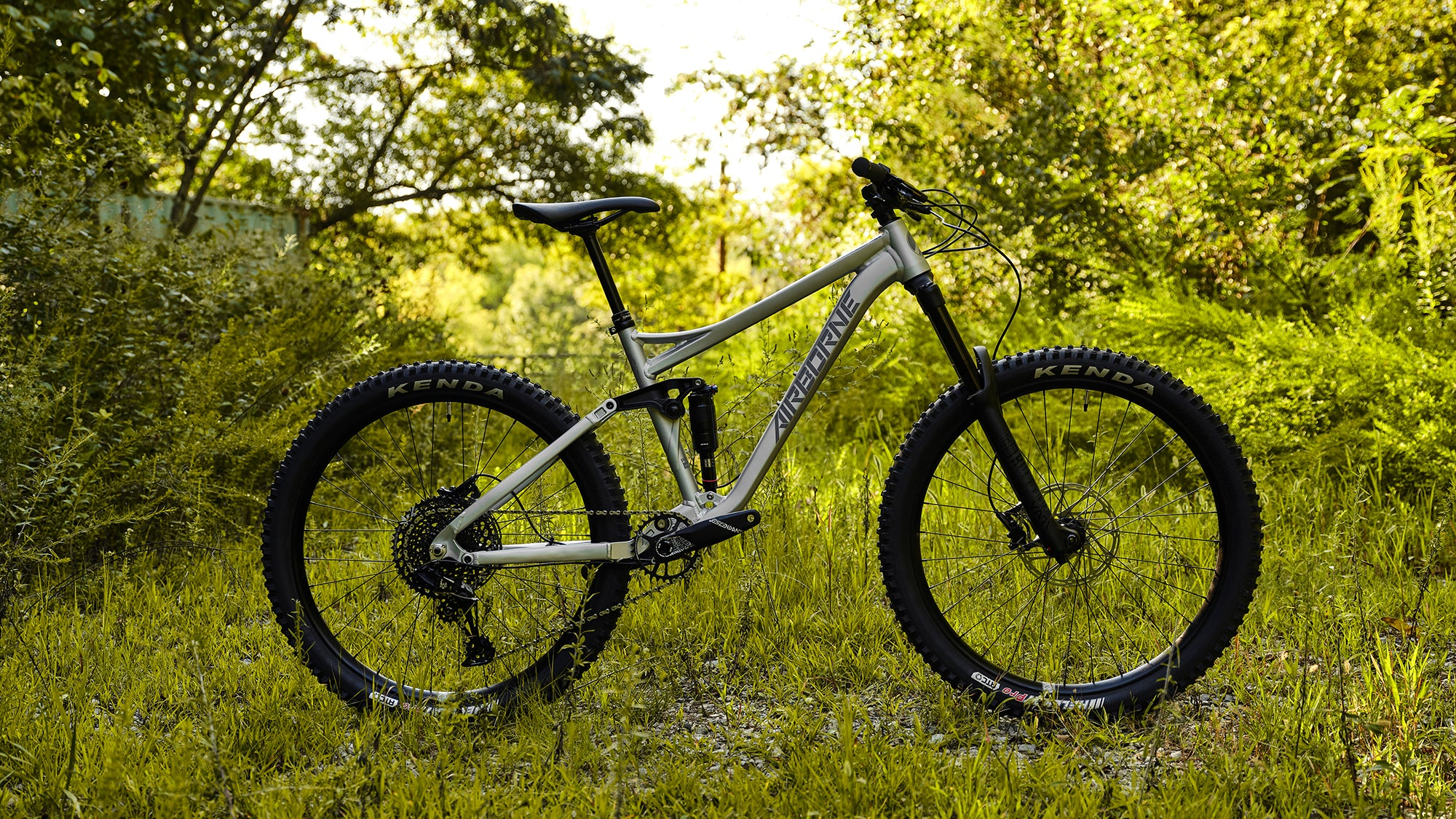 "Go Anywhere On The Plague 27.5"" Full Suspension Enduro"
