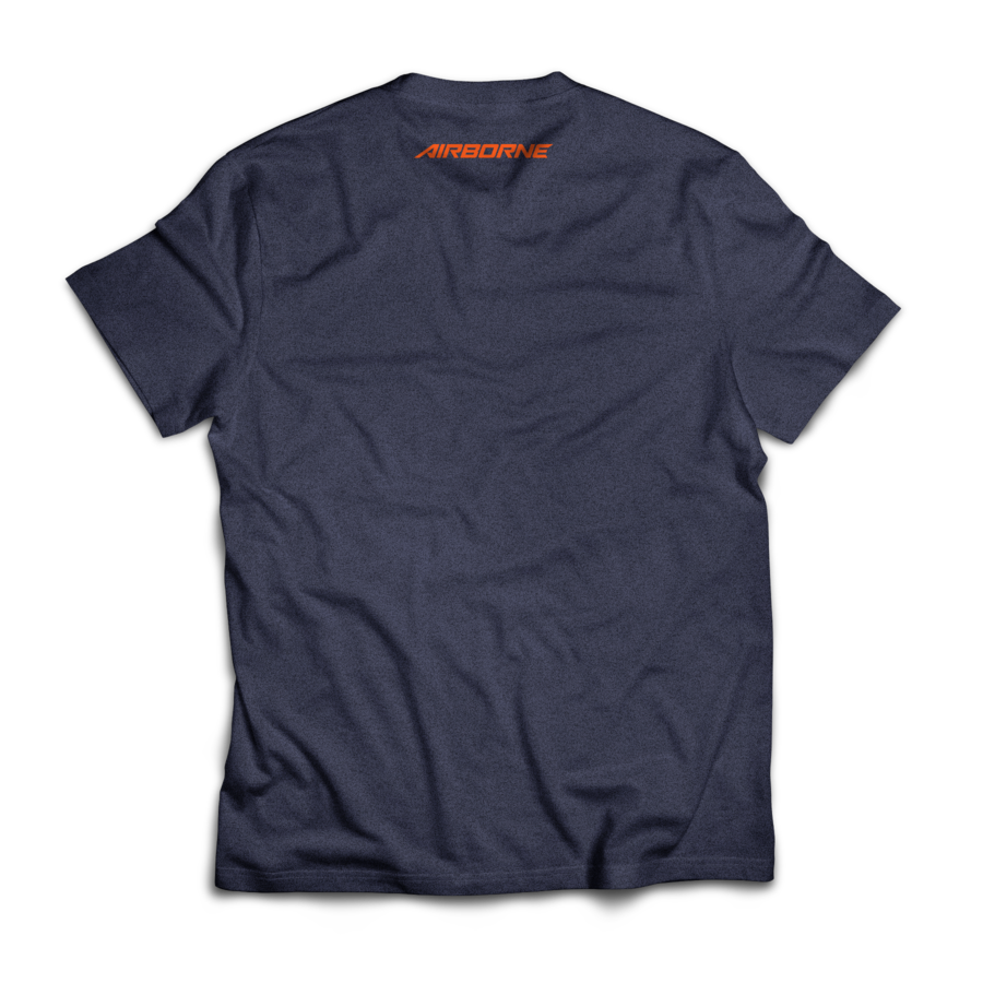 Logomark Tee (Heather Navy)
