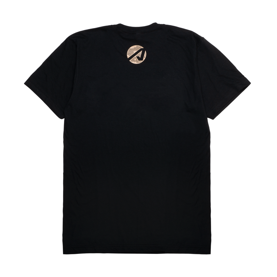 Camo Fill Logo Tee (Black)