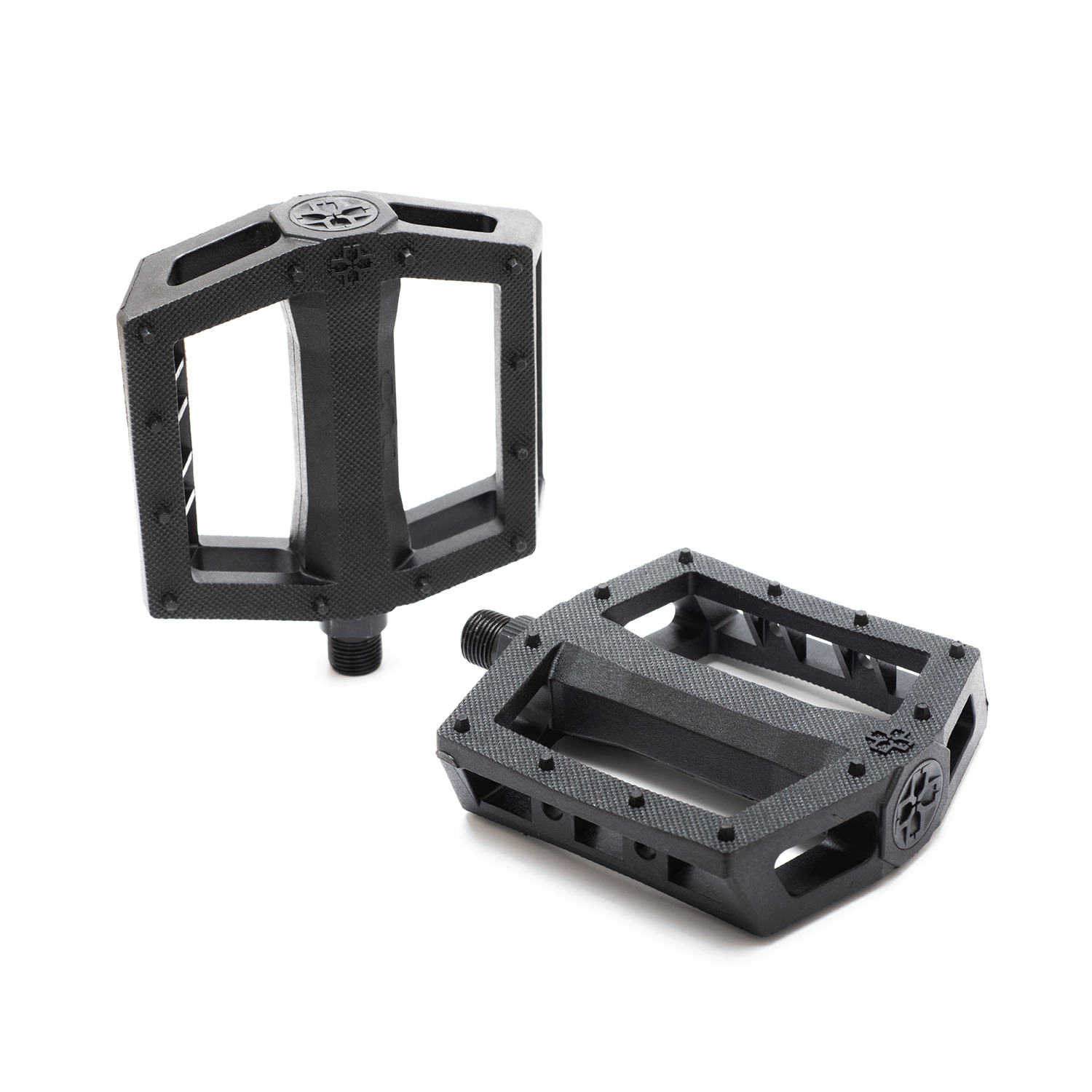 DUO Brand Resilite Pedals in black