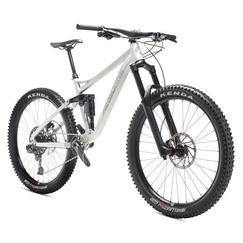 "Airborne Plague Full Suspension Aluminum Enduro 27.5"" MTB"