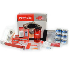 Emergency Bug-In Kit with Sanitation Pack - Basic or Deluxe