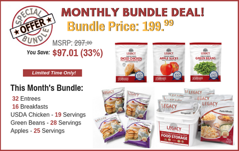 Monthly Bundle Special Offer