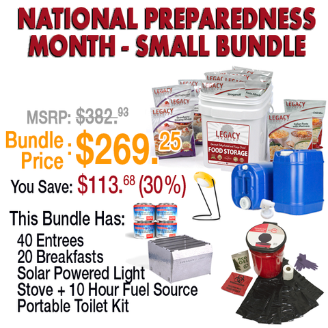 National Preparedness Month - Big or Small Bundle Packs