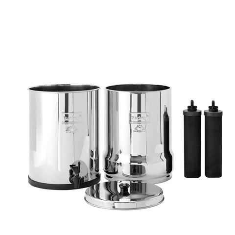 Royal Berkey Stainless Steel Drip Filter System - Includes 2 Black Berkey® Filters (approx. 6000 gal.)