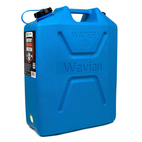 5.8 Gallon BPA Free Food-Grade Wavian Water Can (22 Liters)