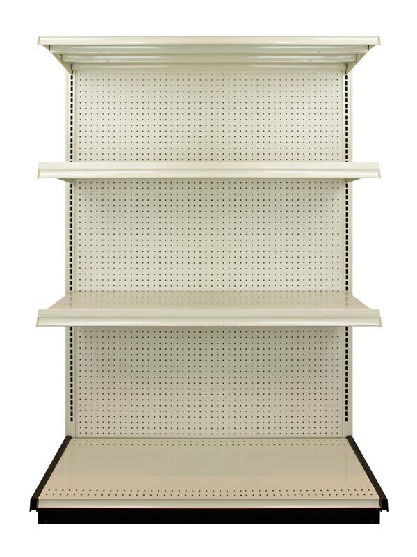 Heavy Duty Steel Shelving Storage Units - 4 or 8 Foot Wide Sections