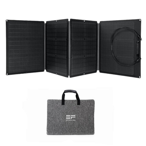 110W Solar Panel - Built-in Carrying Case