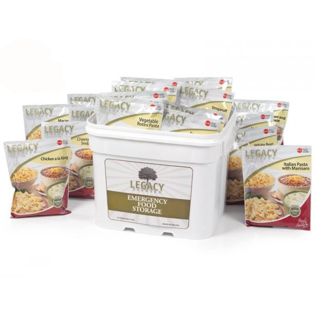 120 Serving Freeze Dried / Dehydrated Survival Meals - Emergency Food