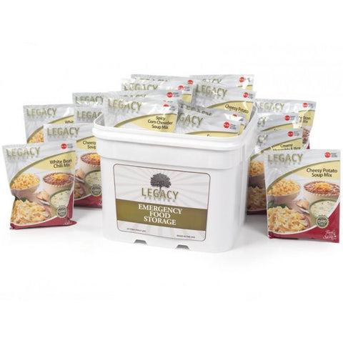 120 Serving Gluten Free Entree Bucket