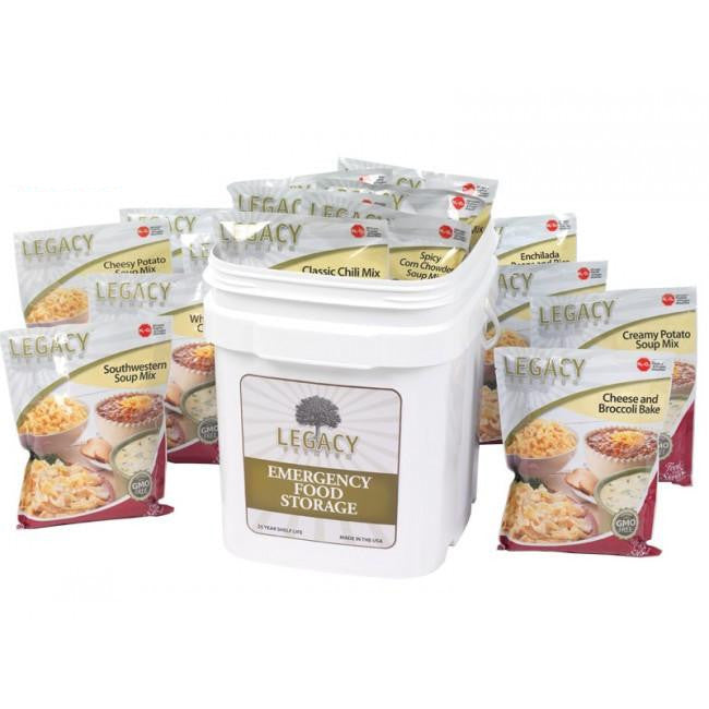 60 Serving Gluten Free Entree Bucket