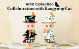 Artist Collection Collaboration with Kangyong Cai (Kevin Tsai)-  Best of you -WHITE