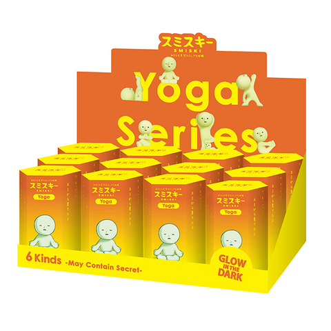 Smiski Yoga - Complete series (12 units)