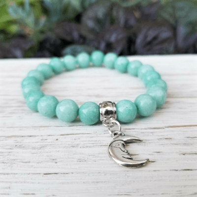 Moon Spirit ~ Amazonite Healing Energy Bracelet