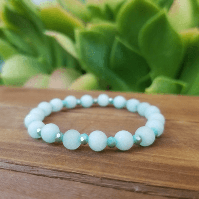 True Self ~ Amazonite Healing Energy Bracelet