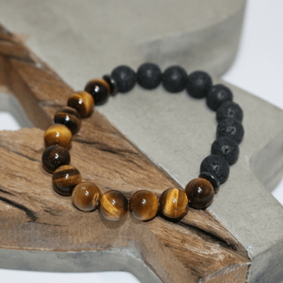 Noble ~Tiger's Eye Healing Energy Bracelet