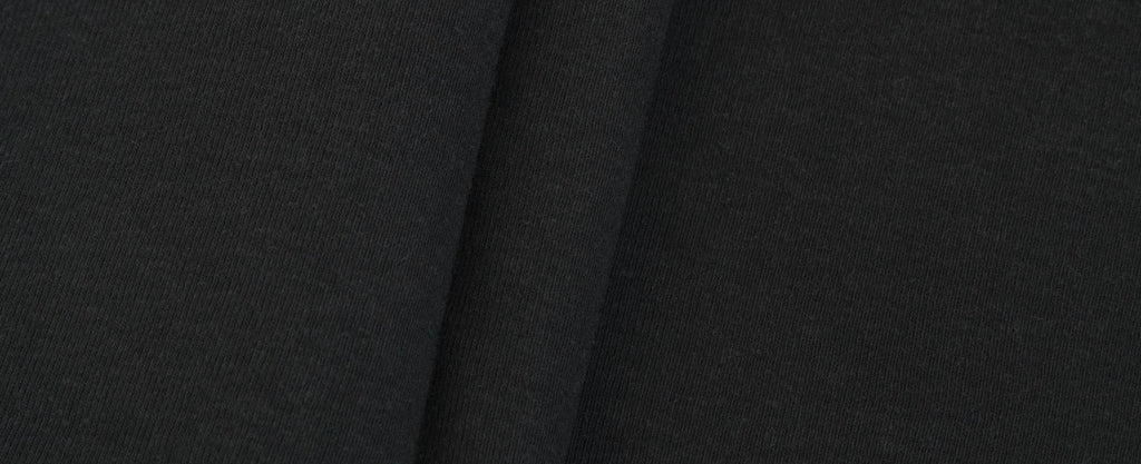 50 Ribbed Jersey - Black