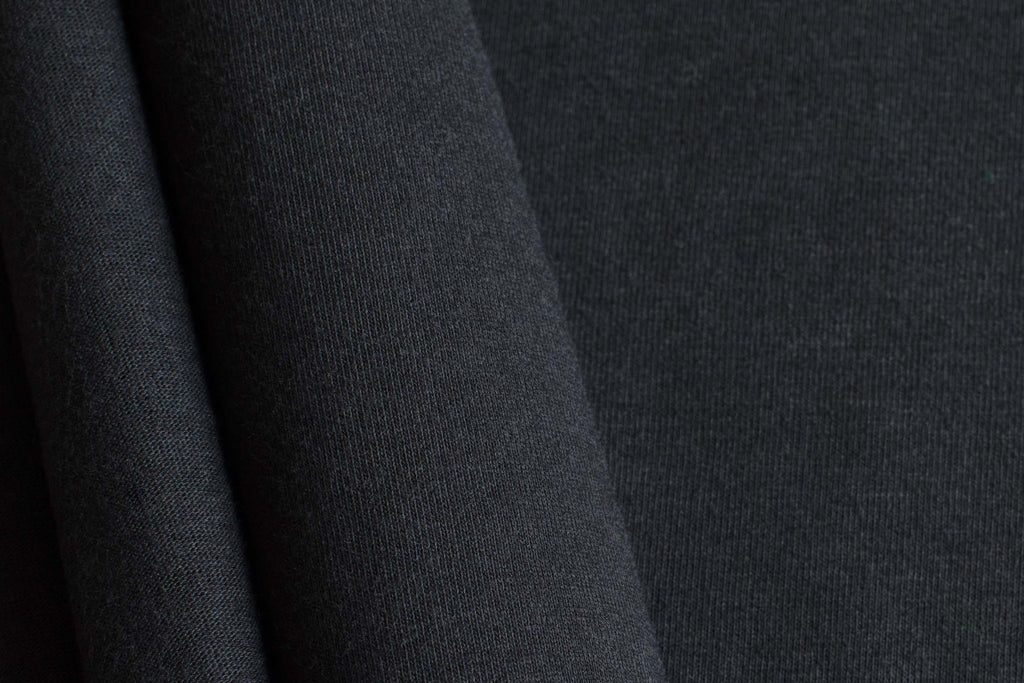THREAD Jersey Knit Fabric - Black