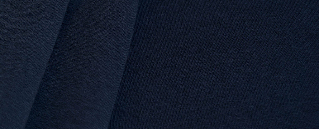 Ribbed Jersey - Navy